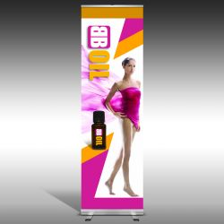 Roll up Single 60cm x 200cm
